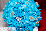 Milbu Blue Bridal Bouquet